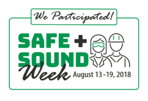 Safe + Sound Week 2018